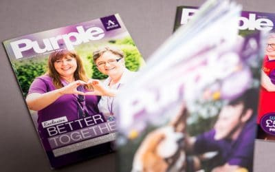 Anchor –Purple magazine